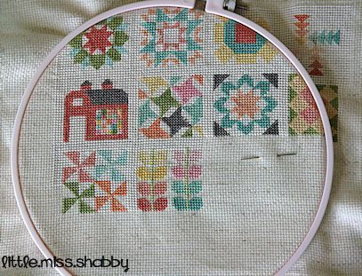 Quilty Stitches Ok, scrapbook friends-this is for that one friend who cross stitches.