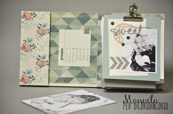 cornice che poi è un minialbum che poi è un calendario…