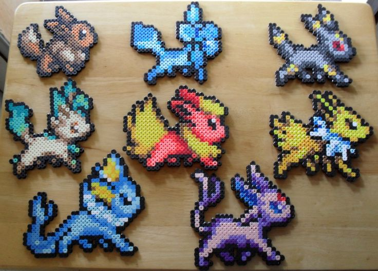 Eeveelution Cute Version Creativity Pinterest Perler Beads Beads And Pokemon Perler Beads