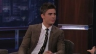 Watch Zac Efron's interview with Jimmy Kimmel HERE!