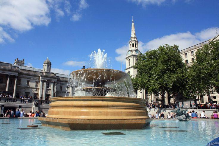 Лондон: Уайтхолл, Трафальгарская площадь, Стрэнд, Флит-стрит - Куда приводят мечты