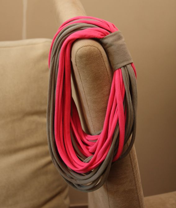 Duo Colored EcoFriendly MY T-shirt Scarf ...