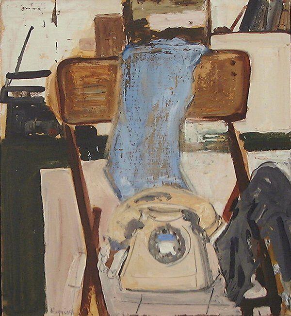 5: Liliane Klapisch (b.1933) Original Oil PAINTING : Lot 5