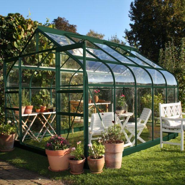 Epingle Par Vita Sur Jardin En 2020 Serre Jardin Maison Verte Toit Pergola