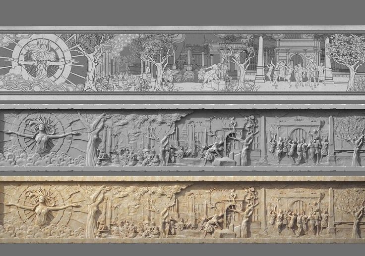 RYSE SON OF ROME Relief Transitions