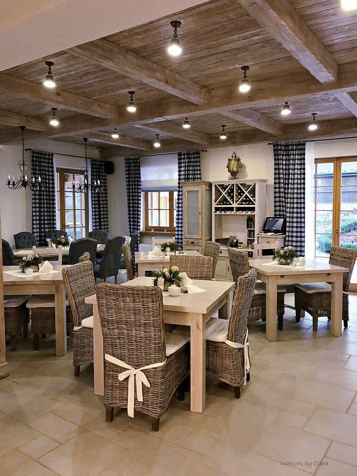 dining jadalnia cottage drewniana