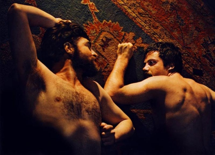 Alan Bates and Oliver Reed in Women in Love