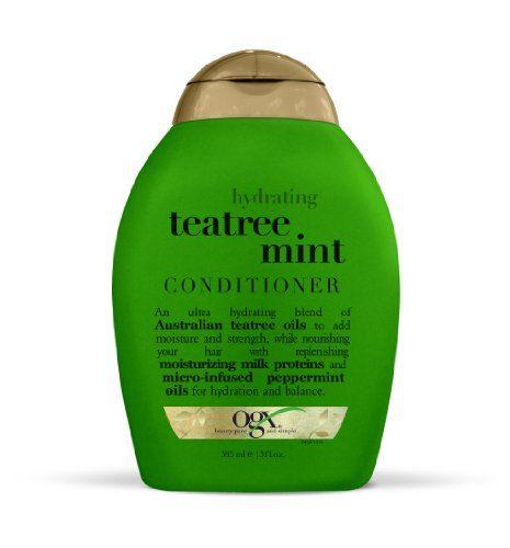 OGX Conditioner, Hydrating TeaTree Mint, 13oz OGX http://www.amazon.com/dp/B000TGA3C0/ref=cm_sw_r_pi_dp_Z75Fub14YGC08