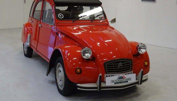 *SOLD* 1986 Citroën 2CV   Stel: VF7AZKA00KA176432 Speedometer: 36.000 km (uden garanti) Synet: 18.08.16 Motor: 602 cc Gearkasse: 4-trins manual - K193