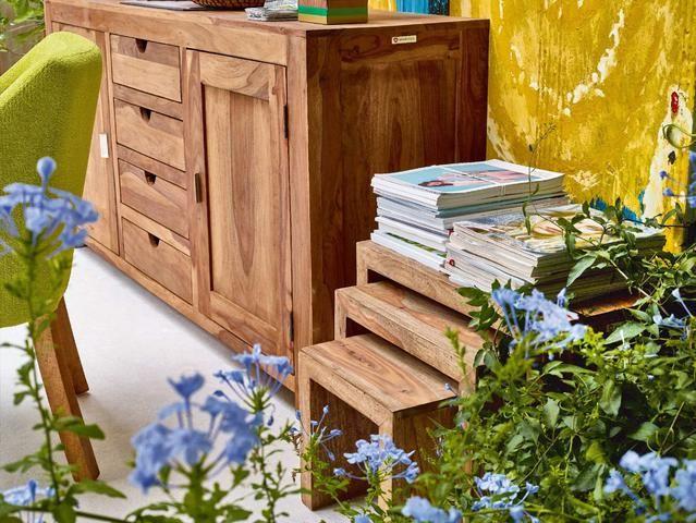 Přístavné stolky - set 3 ks YOGA 6553 - Sconto Nábytek