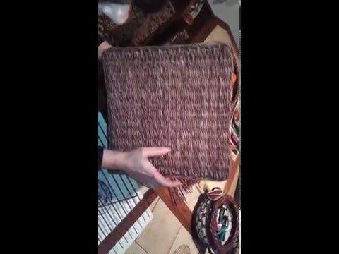 pletení na stavu obrácené pletení , opletek 2 na stavu - YouTube