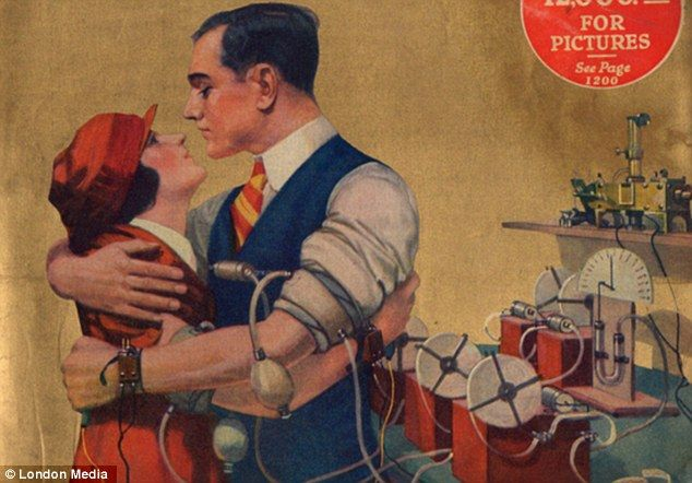 Is it love? The physical attraction test measures pulse and breathing when a couple embracesGadgets Predictions, Funny Pics, El Test, Disorder Test, De 1924, Funny Gadgets, Retrofuturistic Gadgets, 12 Funny, Attraction Test