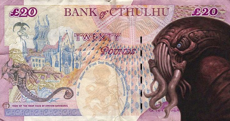 Nerdcore › Cthulhu Crypto Currency.