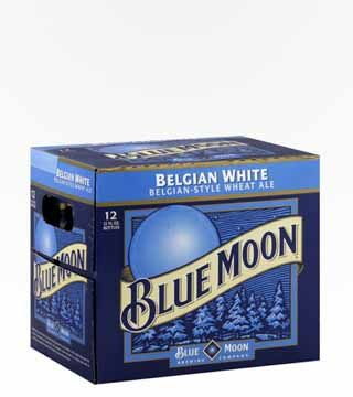 Blue Moon - $16.99 Every once in a blue moon you need a beer with some real flavor. Something other than the run-of-the-mill barley and hops combo. Blue Moon Belgium Witbier has a strong oat flavor, with hints of orange peel and coriander spice. There's a subtle sweetness followed by a smooth, creamy finish. Best served with a fresh fruit garnish.