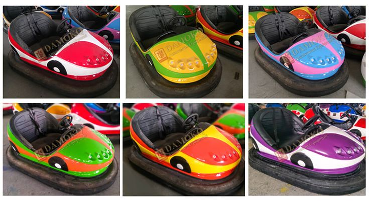 Battery dodgem bumper car for sale is easy to operate and