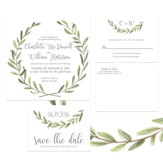 August 2016 Peridot Green Style Olive Branch WeddingBranches