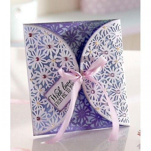 Diesire Create-a-Card Metal Die - Spring Garden - Decorative Dies - Die'Sire - Dies - Card & PaperCraft