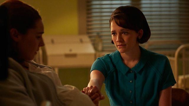 Call the Midwife Series 7 episode 6 Charlotte Ritchie in Call the Midwife..