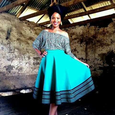 Traditional Xhosa meets Modern... Pure elegance