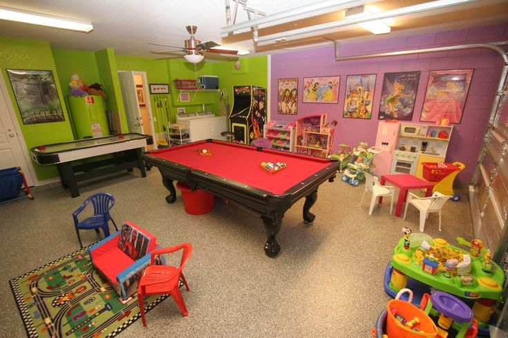 Denton family game room...Maybe not theses EXACT colors.. but love this...