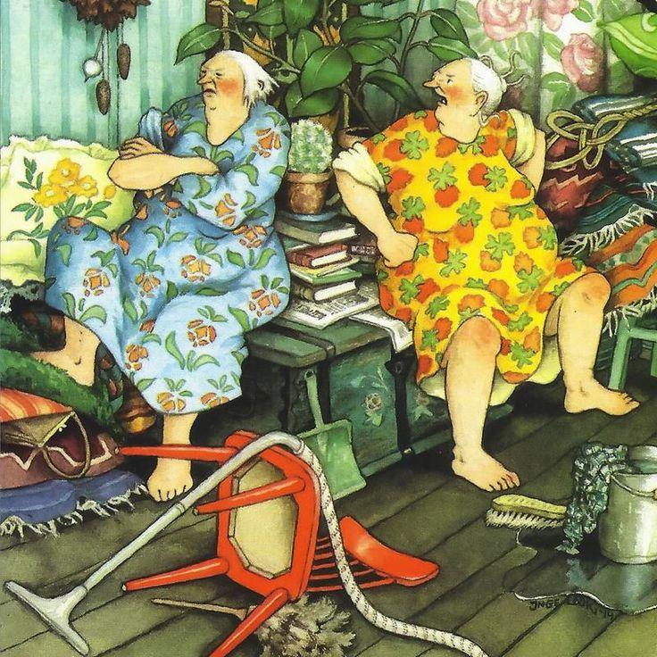 Веселые картинки для бабушек