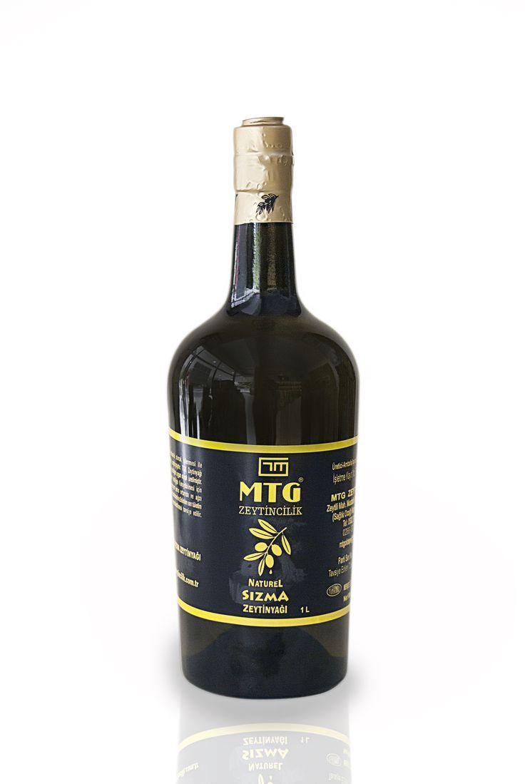 Naturel Sızma Zeytinyağı 1 litre (TAS BASKI)