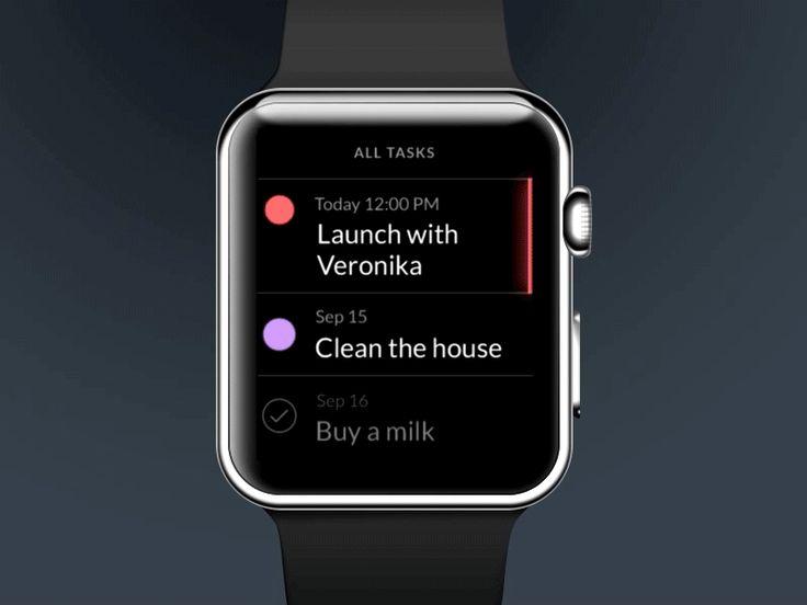 Taasky for Apple Watch by Jakub Antalík
