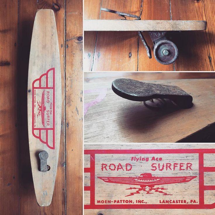 VINTAGE SKATEBOARD 1960s Roller Derby Deluxe By VintageSkateboards EUR12000