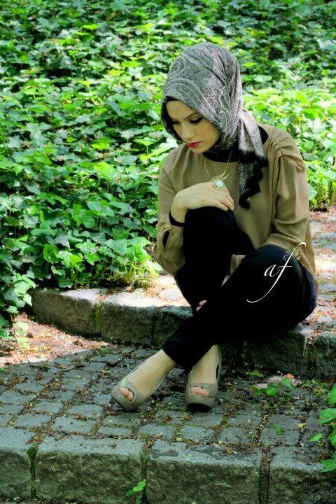 cool hijab style