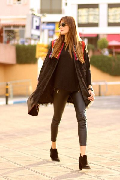 Faux Fur Ethnic Vest | Fashion Inspirations | Pinterest | Prada ...