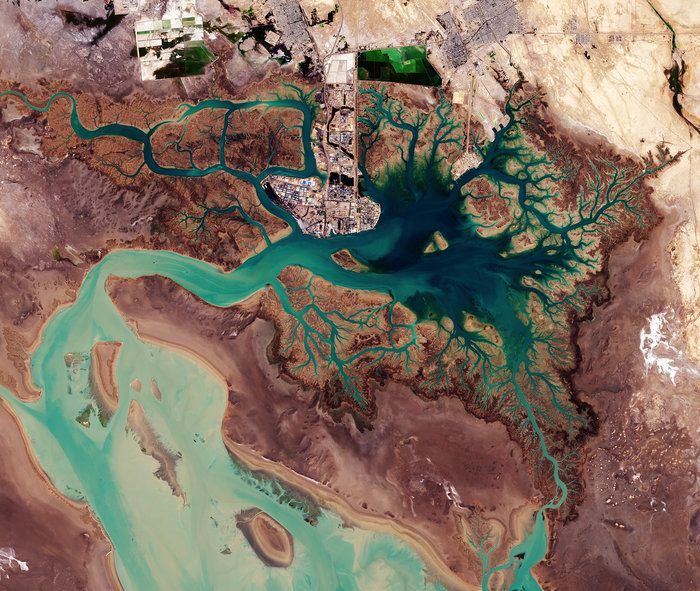 Space in Images - 2017 - 02 - Musa Bay, Iran
