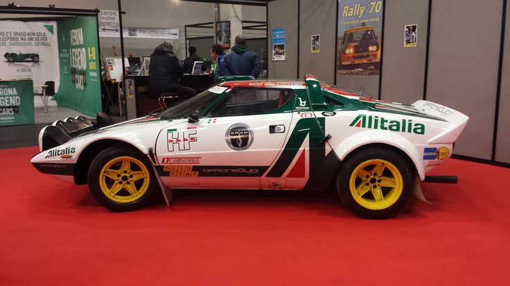 Lancia Stratos sideview
