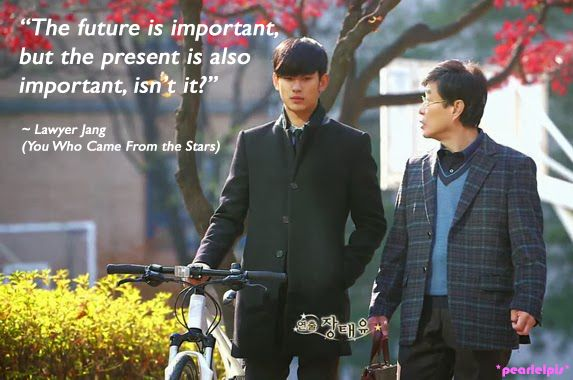 You Who Came From The Stars Korean Drama Quotes Traffic Club