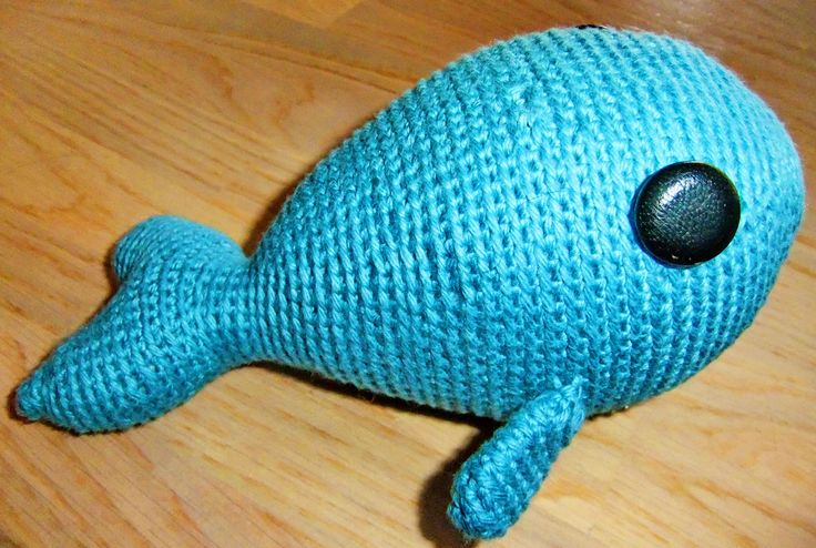 Crochet whale, Whales and Crochet on Pinterest