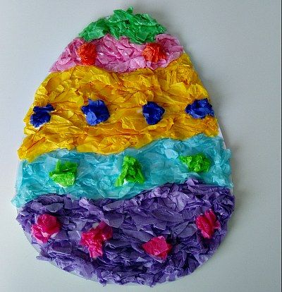 Easter Egg Mosaic Craft