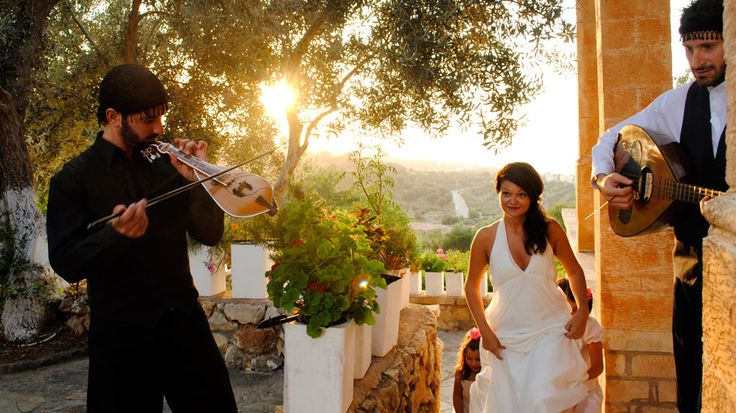 "Get ready for your wedding listening live to cretan instrument ""lyra""... a truly magical experience."
