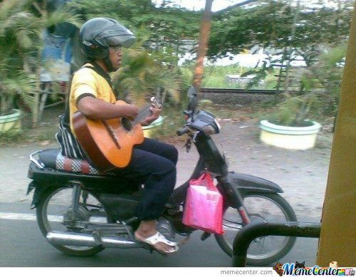Another Meanwhile In Indonesia. . . Look No Hand
