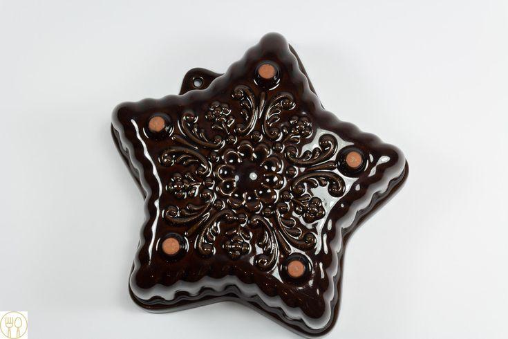 Backformen - Schöne Backform, Keramik, Stern - ein Designerstück von Loeffelland bei DaWanda