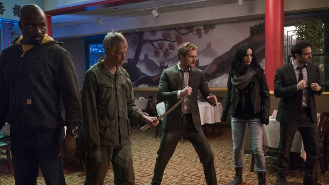 New Defenders Photos Bring the Misfits of the MCU Together   New Defenders photos bring the misfits of the MCU together  Following the trailer debut yesterdayMarvel and Netflix have releasedsome new photos from Marvels The Defenders featuring the whole gang together. Check them out in the gallery below!  RELATED:The Defenders Trailer is Here!  Marvels The Defendersfollows Matt Murdock/Daredevil (Charlie Cox) Jessica Jones (Krysten Ritter) Luke Cage (Mike Colter) and Danny Rand/Iron Fist…