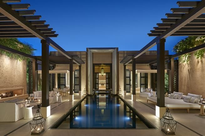 The New Mandarin Oriental Hotel in Marrakech