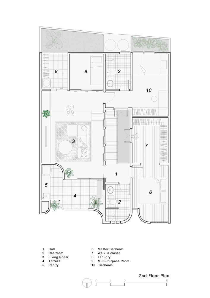 Gallery Of Baan Priggang Bodinchapa Architects 45 Architect Old Building How To Plan