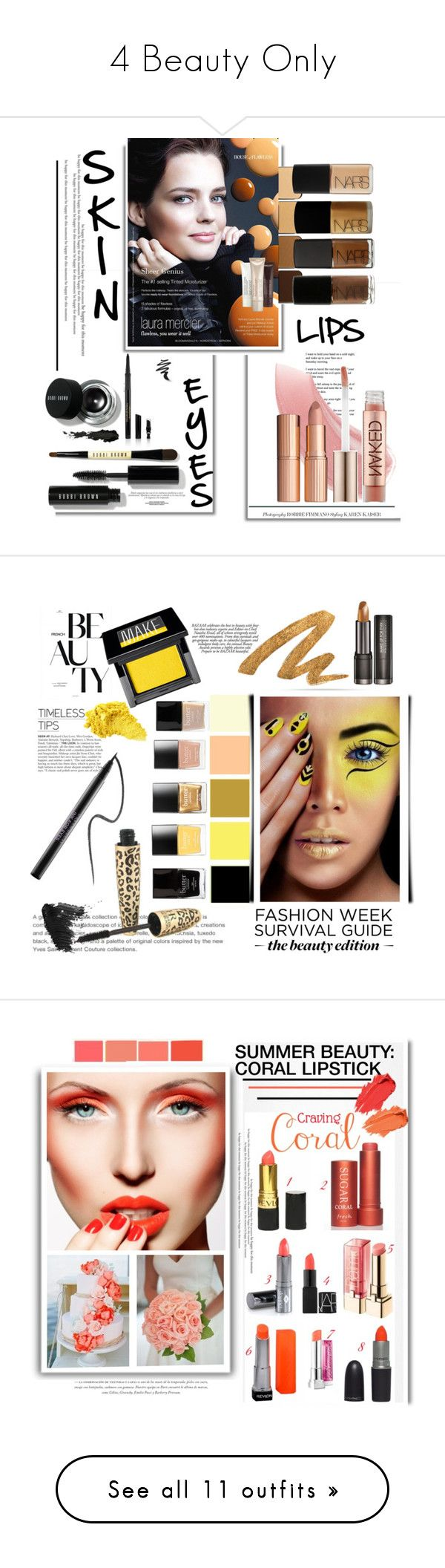 """""""4 Beauty Only"""" by emcf3548 ❤ liked on Polyvore featuring Michael Kors, Bobbi Brown Cosmetics, Laura Mercier, NARS Cosmetics, Urban Decay, Charlotte Tilbury, Elizabeth Arden, beauty, Butter London and Jack Black"""