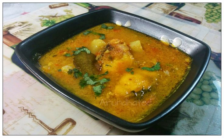 One of the very beloved #Assamese recipe Tangy Fish Curry!