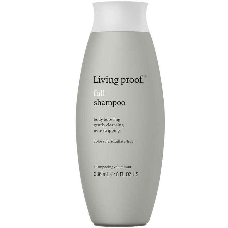Living Proof - Full Shampoo - 236ml - Living Proof - Full Shampoo spendet feinem und dünner werdendem Haar Volumen und nährt es. Es hinterlässt keine Rückstände, hält das Haar nach einer Wäsche lange frisch und spendet Feuchtigkeit. Dieses Shampoo eignet sich für die tägliche Haarwäsche, spendet Glanz und zaubert spürbar mehr Volumen. Technologie: PBAE und OFPMA Technologie für lang anhaltende Fülle und spürbar gepflegtes Haar Ergebnis: Tiefenwirksam und rückstandslos reinigend, sowie ...