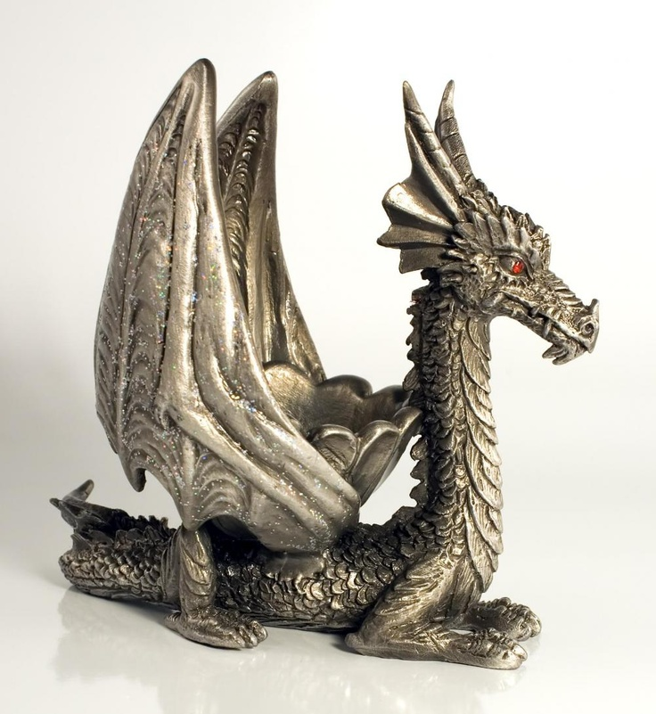 17 best images about dragon fire on pinterest pewter baby dragon and toys - Pewter dragon statues ...