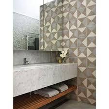 Resultado de imagem para banheiros com ladrilho hidraulico hexagonal