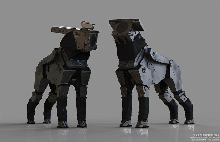 robot dogs fun art - photo #46