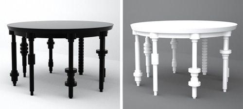 Table Mock By Mahdi Naim