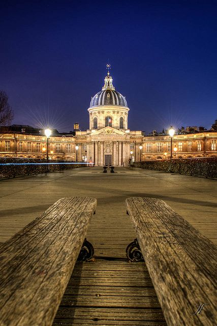 Institut de France By Night | Flickr - Photo Sharing!