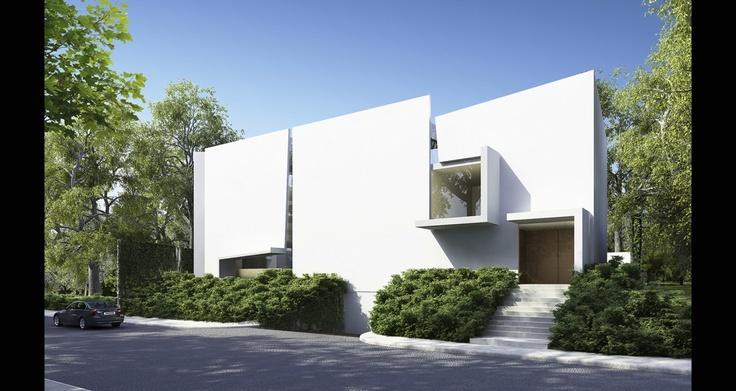 Casa cedros in mexico by taller aragon s miguel angel - Miguel angel casas ...
